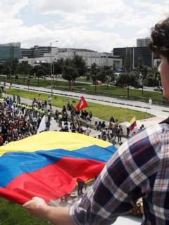¡Ojo, viajeros! Marchas en Bogotá toman rumbo hacia aeropuerto Eldorado