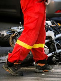 Accidente de Moto
