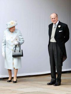 Reina Isabel II y el príncipe Felipe