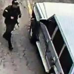 Camioneta de atentado a Policía