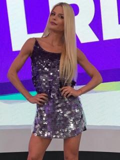 Mary Méndez, presentadora.