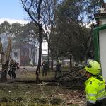 Atentado terrorista en la Escuela de Cadetes General Santander