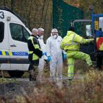 Forenses de la policía británica