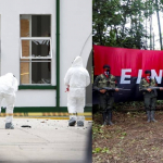 Atentado terrorista del Eln contra la Policía en Bogotá