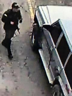 Carro usado en atentado contra Escuela General Santander