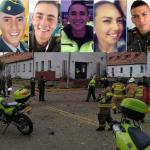 Cadetes muertos en atentado contra Escuela General Santander