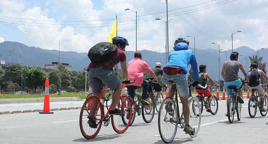Usuarios en Bicicleta, ciclistas