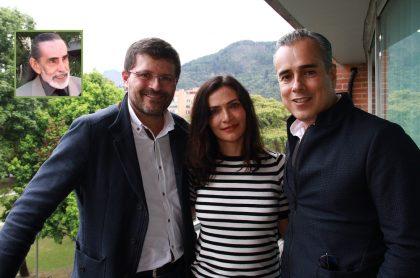 Frank Ramírez, Julio César Herrera, Ana María Orozco y Jorge Enrique Abello, actores.