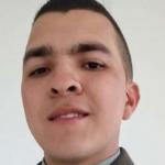 Papá del cadete Diego Pérez