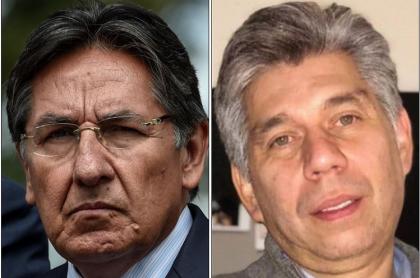 Néstor Humberto Martínez y Daniel Coronell