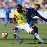 Colombia vs Brasil, en Sudamericano Sub 20