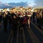 Honores a la cadete Érika Sofía Chico