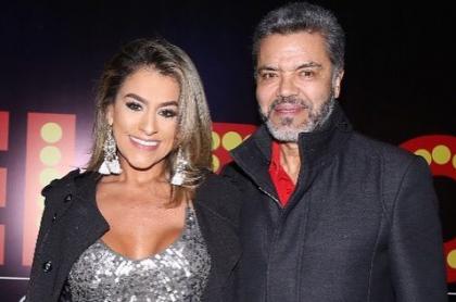 Luis Eduardo Torres y su pareja, Leidy Torres