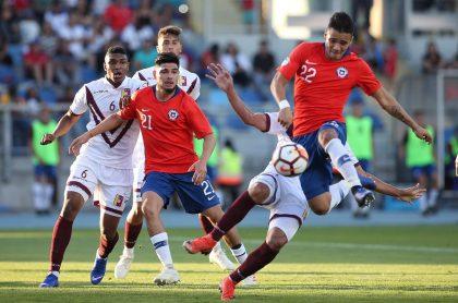 Chile vs Venezuela, en Sudamericano Sub 20
