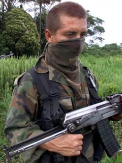 Violencia paramilitar en Colombia.
