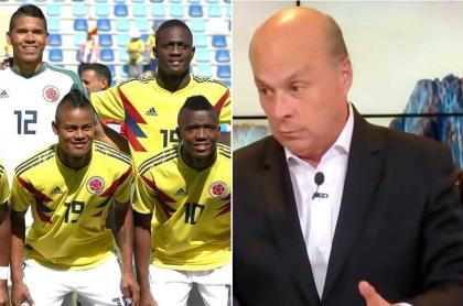 Selección Colombia y Carlos Antonio Vélez