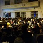 Protestas y violencia en Ibarra