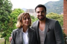 Angélica Blandón y Gabriel Valenzuela