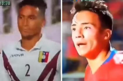 Futbolista venezolano y chileno