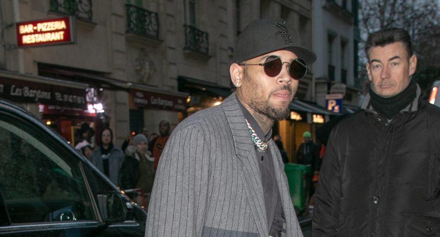 Chris Brown, cantante.