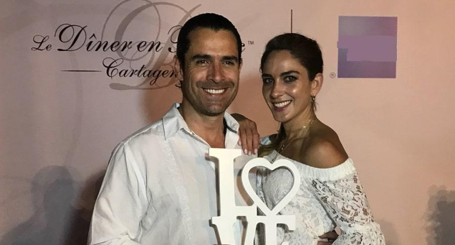 Rafael Novoa y Adriana Tarud