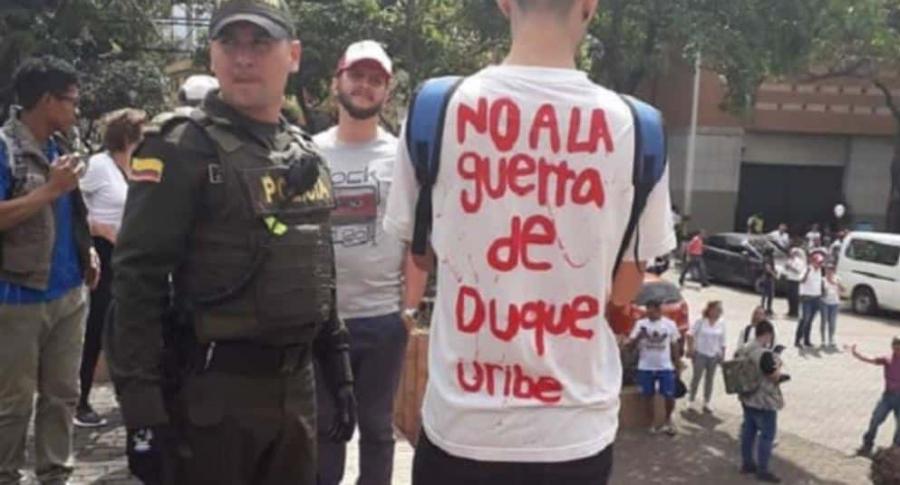 Camiseta marcha