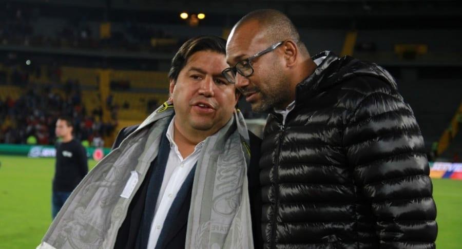 Juan Andrés Carreño y Agustín Julio