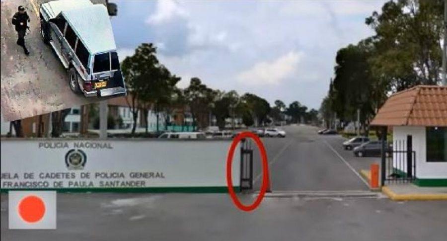 Carro bomba en la General Santander