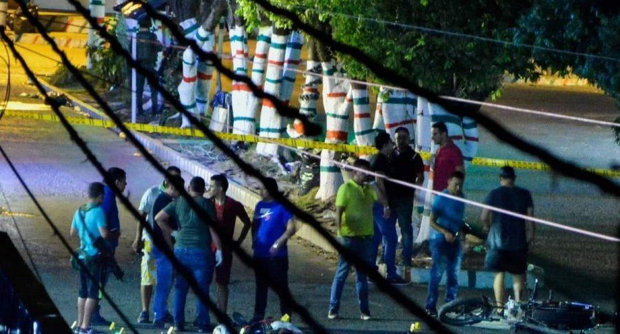 Hostigamiento en Saravena, Arauca