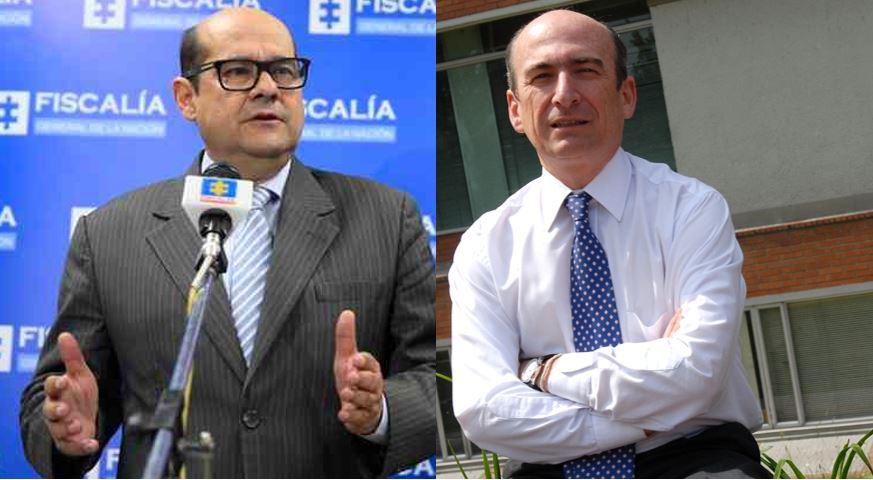 Jorge Luis González y Jorge Enrique Pizano
