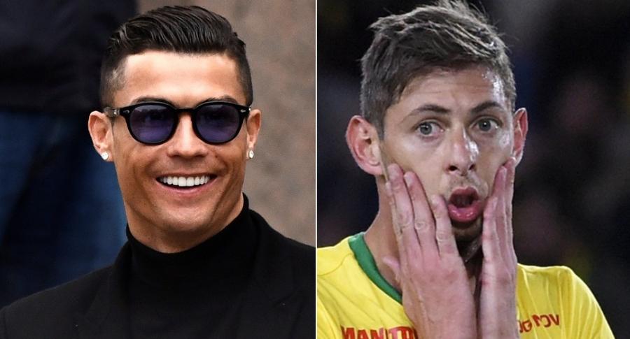 Cristiano Ronaldo y Emiliano Sala