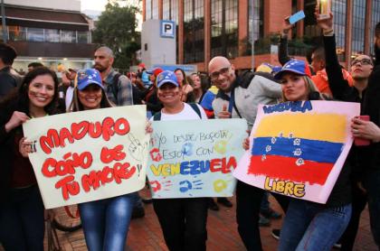 Marcha de venezolanos