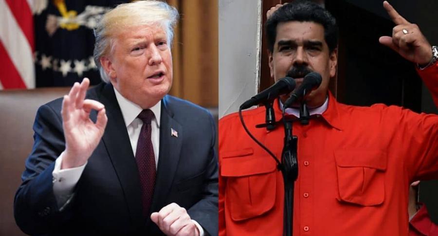 Donald Trump y Nicolas Maduro