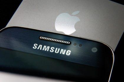 Apple y Samsung