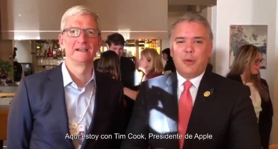 Tim Cook y Duque