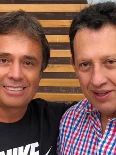 César Augusto Londoño y Óscar Rentería