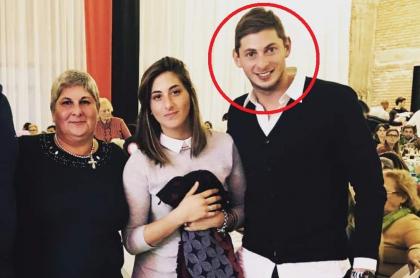 Emiliano Sala y su familia