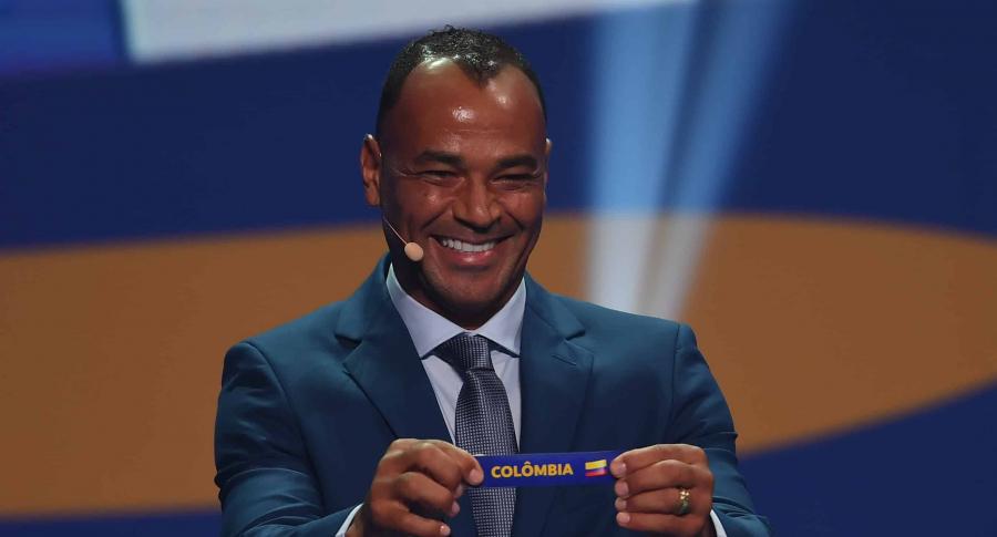 Cafú saca el papel de Colombia en sorteo de Copa América