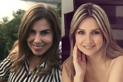 Nubia Martiíez y Vicky Dávila