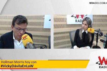 Hollman Morris en entrevista con Vicky Dávila