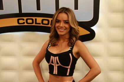 Elianis Garrido, presentadora.