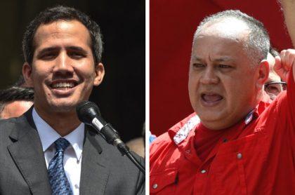 Guaidó y Cabello