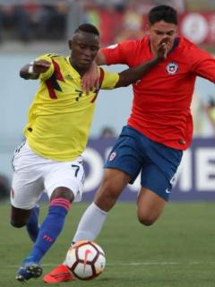 Selección Colombia vs. Chile