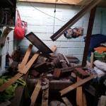 Fotos de los primeros daños del temblor