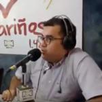 Rubén Darío Correa, director de noticias de La Cariñosa.