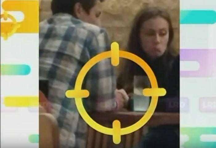 Esteban Chaves y su novia