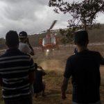 Residentes contemplan la misión de rescate en Brasil