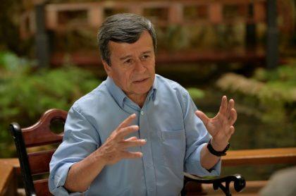 Pablo Beltrán, jefe negociador de paz del Eln.