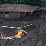 Búsqueda de sobrevivientes en Brasil