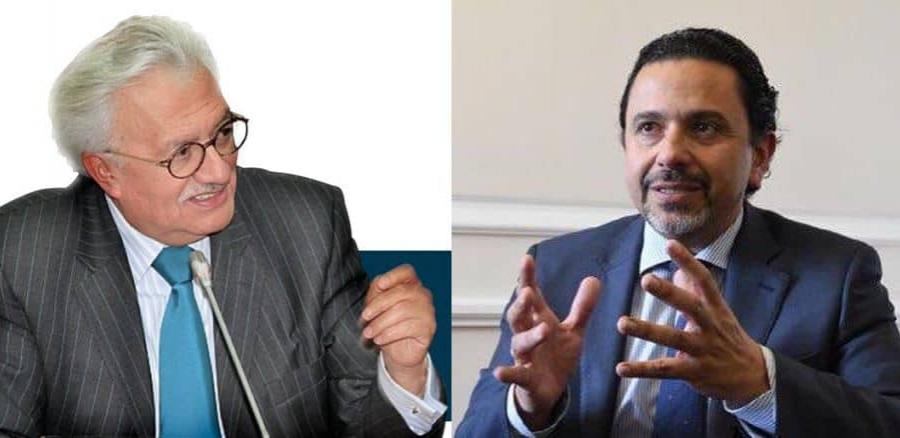 Everth Bustamante y Miguel Ceballos